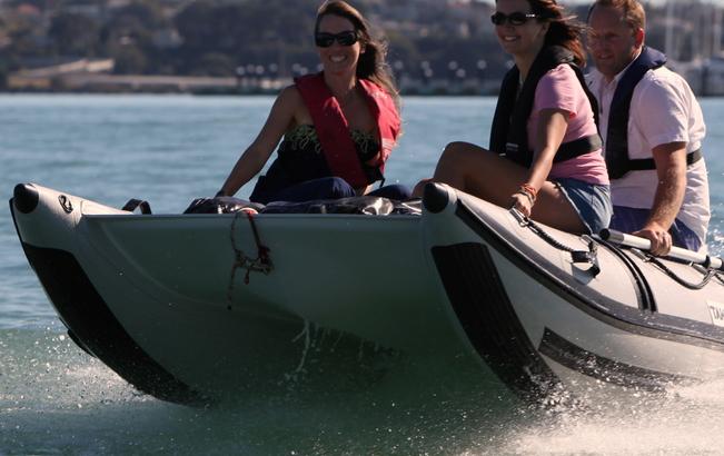 Schlauchboot für Camper – worauf wir achten.