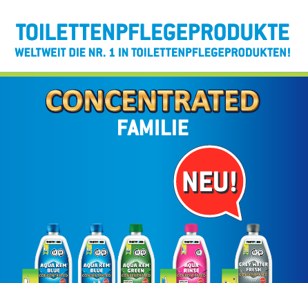 Helferlein für Ihr Fahrzeug: Reinigung und Pflege von Toilette & Sanitär – Thetford