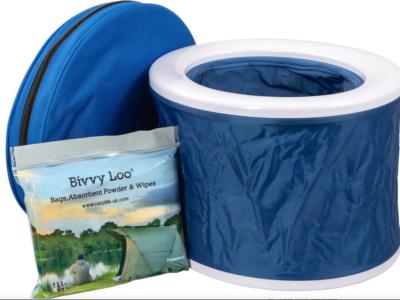 NEU IM SHOP! BIVVY LOO – die tragbare Campingtoilette !