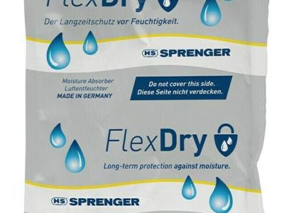 NEU IM SHOP! FlexDry Luftentfeuchter von Sprenger – der effektive Langzeitschutz!